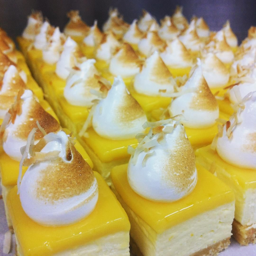 "Laura Baxter on Instagram: ""Army of Lemon Meringue Cheesecake bites  Laura Baxter on Instagram: ""Army of Lemon Meringue Cheesecake bites #lemonmeringuecheesecake"