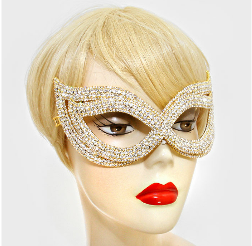 Inside out Crystal Cat Eye Mask (With images) Crystal