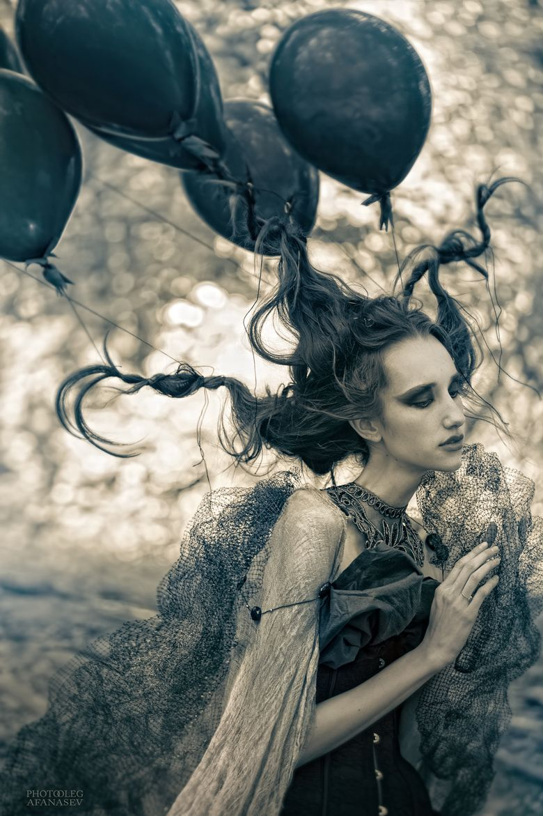 Photographer unknown fashion photography fantasy dark black