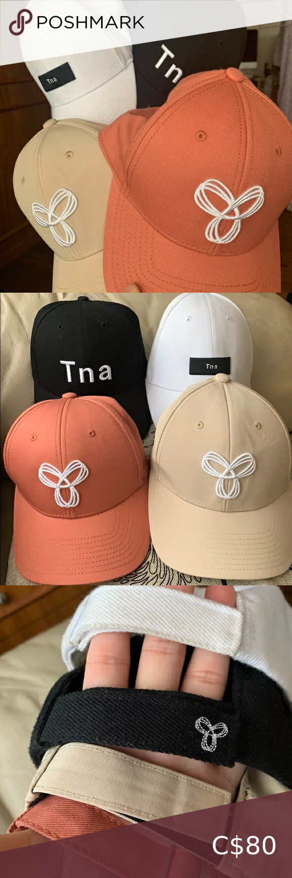 4 For 65 Nwot Tna Caps Except White Color Brand New Tna Caps Please See Pictures White Cap Has Foundati White Caps Suede Baseball Cap Women Accessories Hats