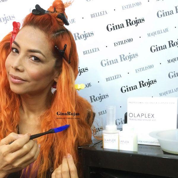 Gina Rojas.  Peluquera, maquilladora, blogger y youtuber venezolana. Enamorada de la química y colorimetría capilar.
