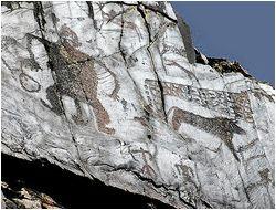 Uzbekistan Rock Art Petroglyphs