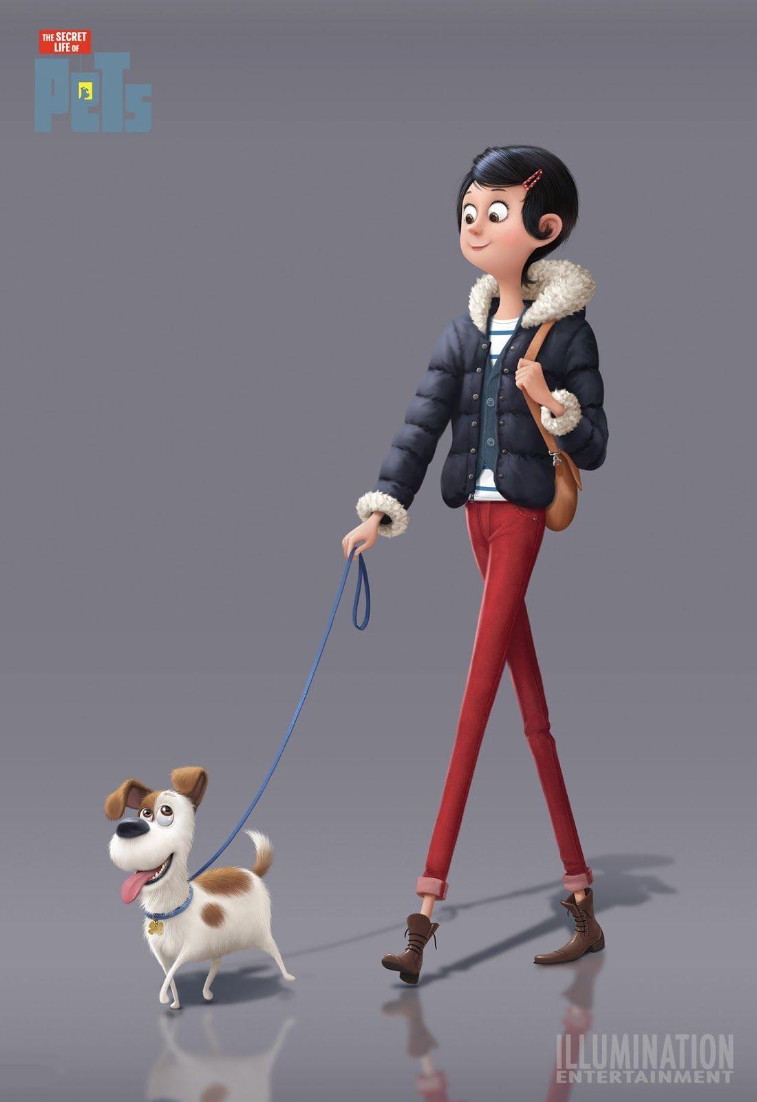Secret Life Secret Life Of Pets Character Design