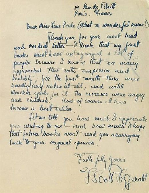 The Most Endearing And Charming Letters From Famous Authors To