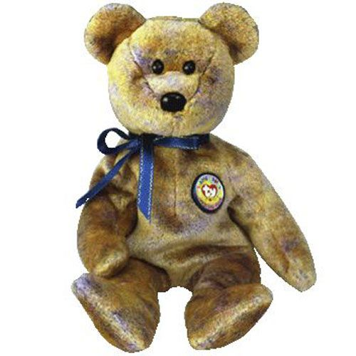 405cd55d98b TY Beanie Baby - CLUBBY 3 the Bear (8.5 inch)
