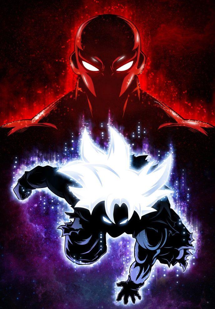 Goku Master Ultra Instinct vs… Anime & Manga Poster Print | metal posters