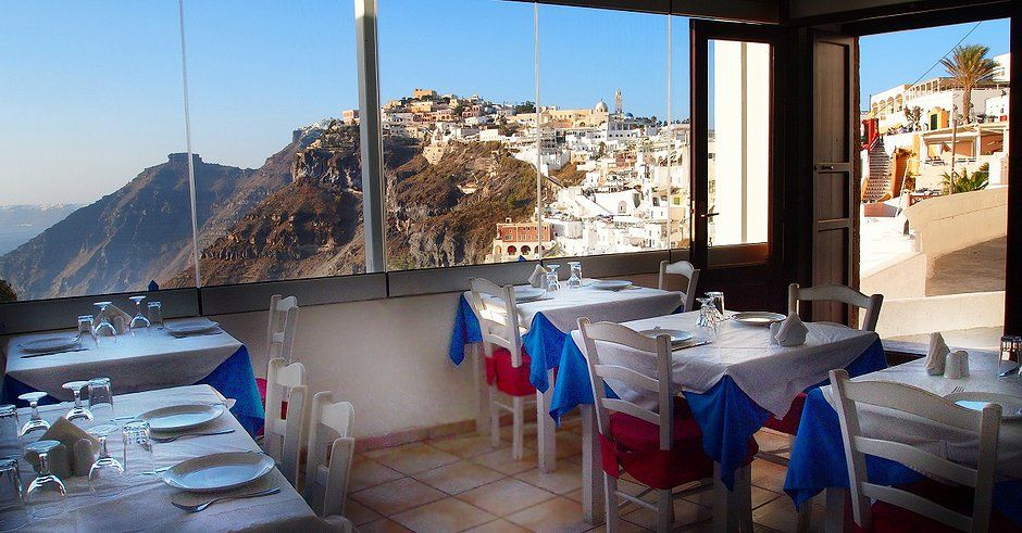 Best Restaurant Traditional Food In Fira