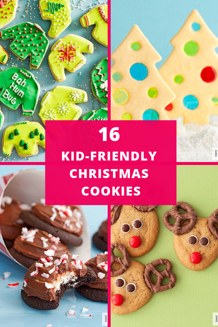 Kid Friendly Christmas Cookies Almost Too Cute To Eat Festive