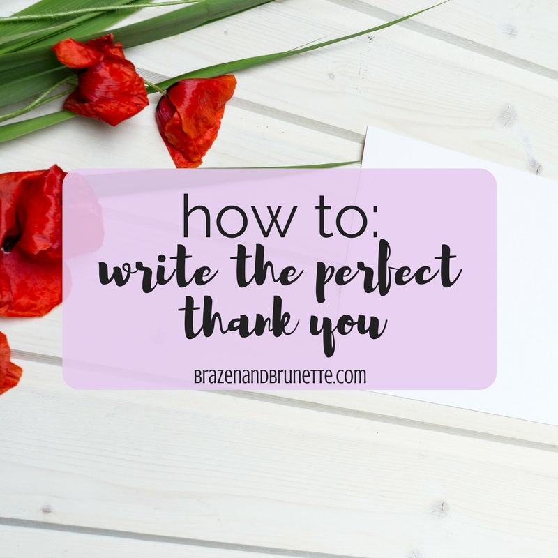 How to Write the Perfect Thank You School - scholarship thank you note
