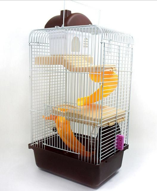 Recommended Goods Large Luxury Cages For Hamsters Transport Super Hamster Cage Accessories Guinea Pigs House Pet Supplieskennel Products Hamster Accessorie
