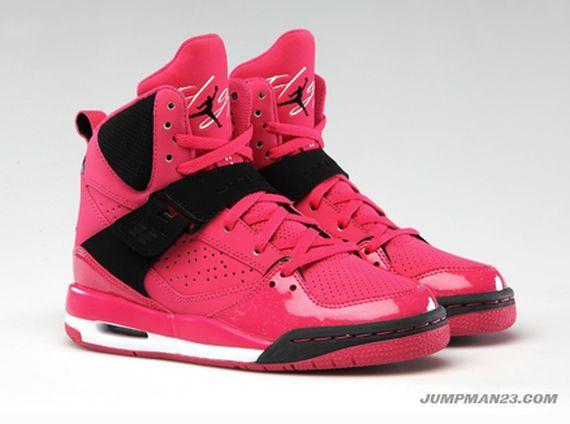 1e266aae305 Bubble gum pink and black jordans   Jordans   Shoes, Jordans girls ...