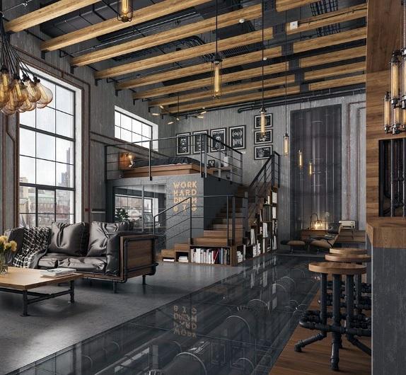 Top 50 Best Industrial Interior Design Ideas Raw Decor Inspiration Industrial Loft Design Industrial Home Design Industrial Interior Design