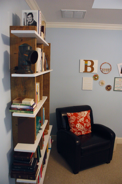 wall mounted bookshelf reclaimed wood braces with white on wall mount bookshelf id=80258