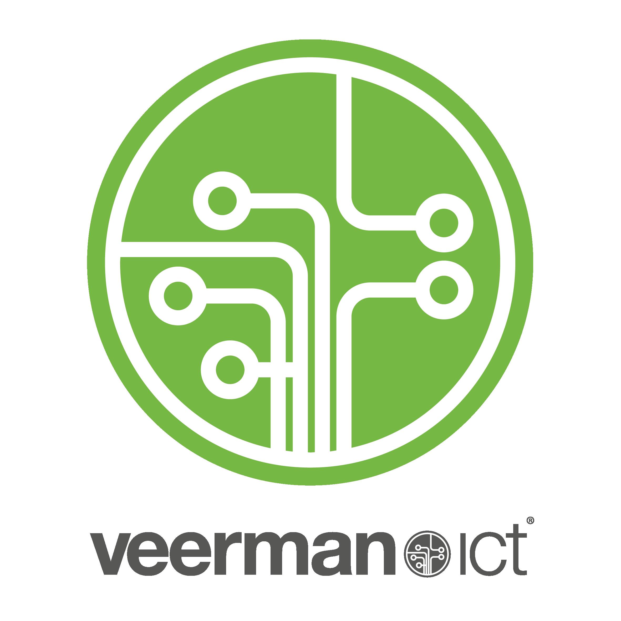 Vierkant logo Veerman ICT