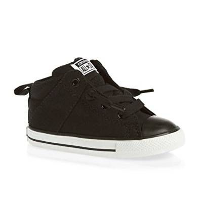 11ad80881c11c5 Converse Unisex Child Chuck Taylor All Star Axel Mid (Inf Tod) - Black Black  Children s Fashion  childrensclothing  children  childrenswear  sneakers