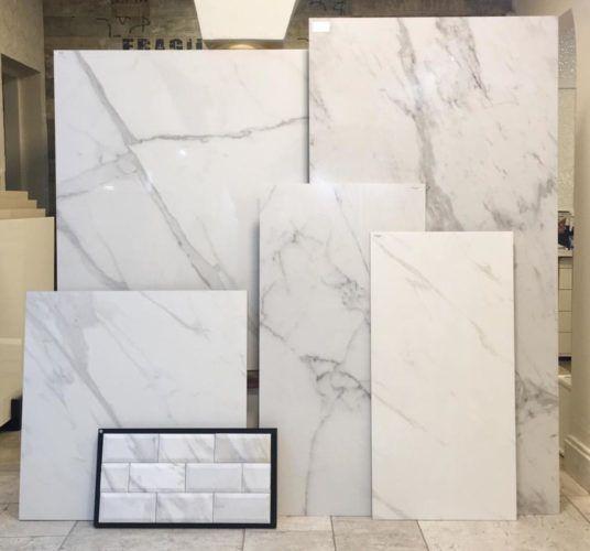 Conexão Décor Mármores Clacata - Carrara - Statuario em diversos tamanhos, na Euroville. http://conexaodecor.com/2017/07/cozinhas-de-verdade-parte-2/
