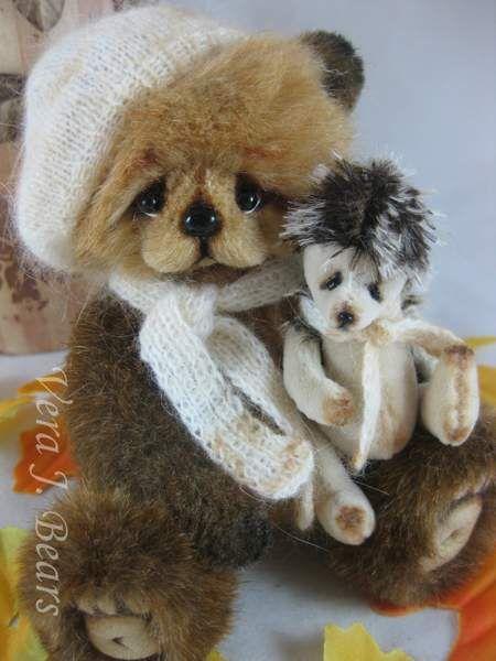 HUGO and hedgehog friend by Vera J.Bears
