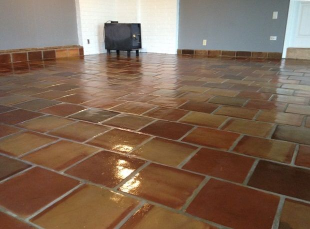 Saltillo Tile Mexican Saltillo Flooring Terracotta Tile Ships Worldwide Flooring Tile Floor Spanish House