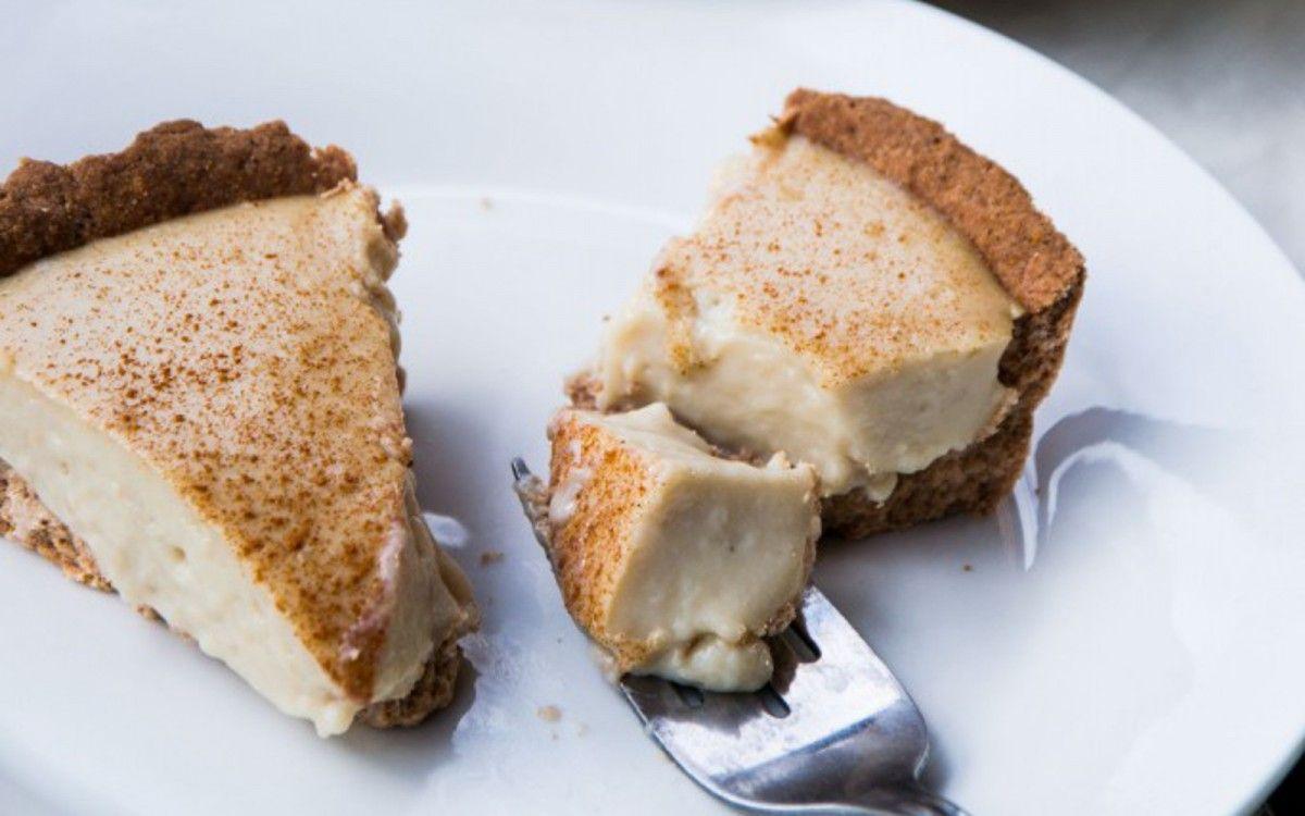 South African Milk Tart [Vegan, GlutenFree] Milk tart