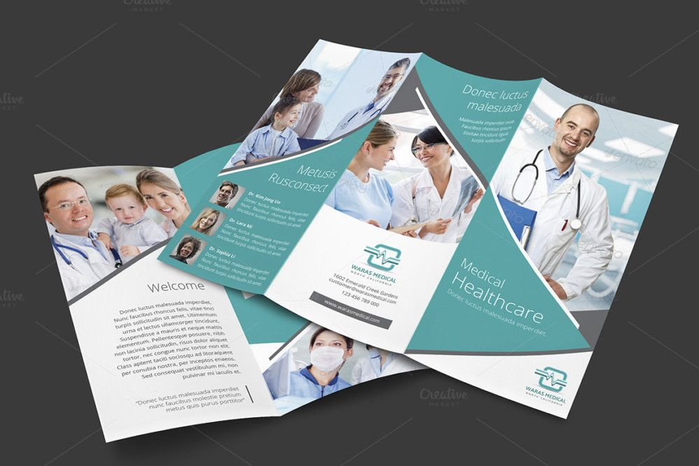 Premium Dental Brochure Template Des Have Industrial Look