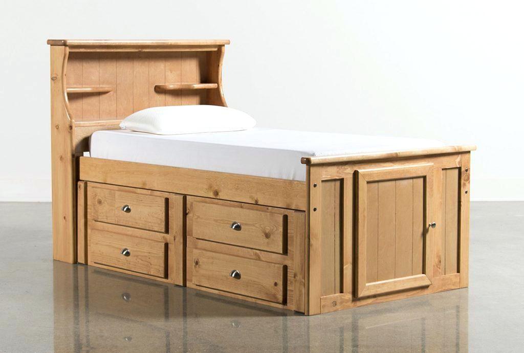 Modernes Twin Bett mit Bücherregal Kopfteil | KinderzimmerDeko ...