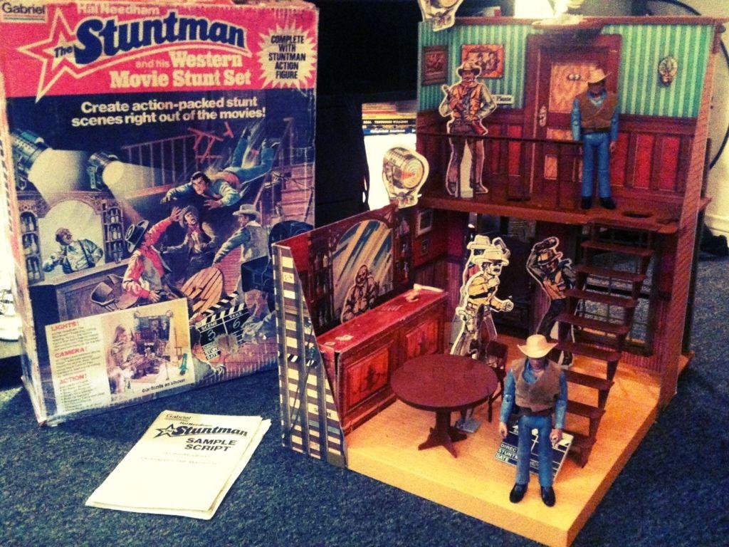 Gabriel Hal Needham The Stuntman Playset