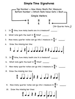 60 time signature worksheets printables games music theory music lessons for kids music. Black Bedroom Furniture Sets. Home Design Ideas