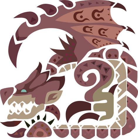 File Mhw Pink Rathian Icon Png Monster Hunter World Wallpaper Monster Hunter World Monster Hunter