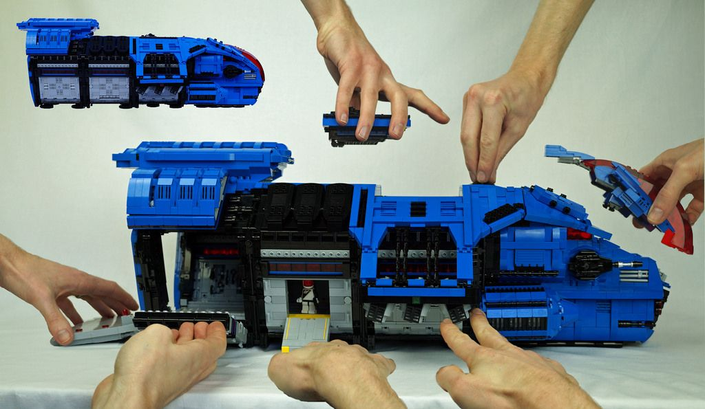Goliath Action Features Lego Space Legos Lego Instructions