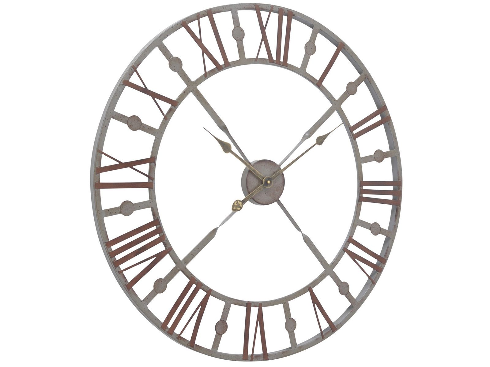Accessories Antique grey skeleton wall clock | Wall clocks ...