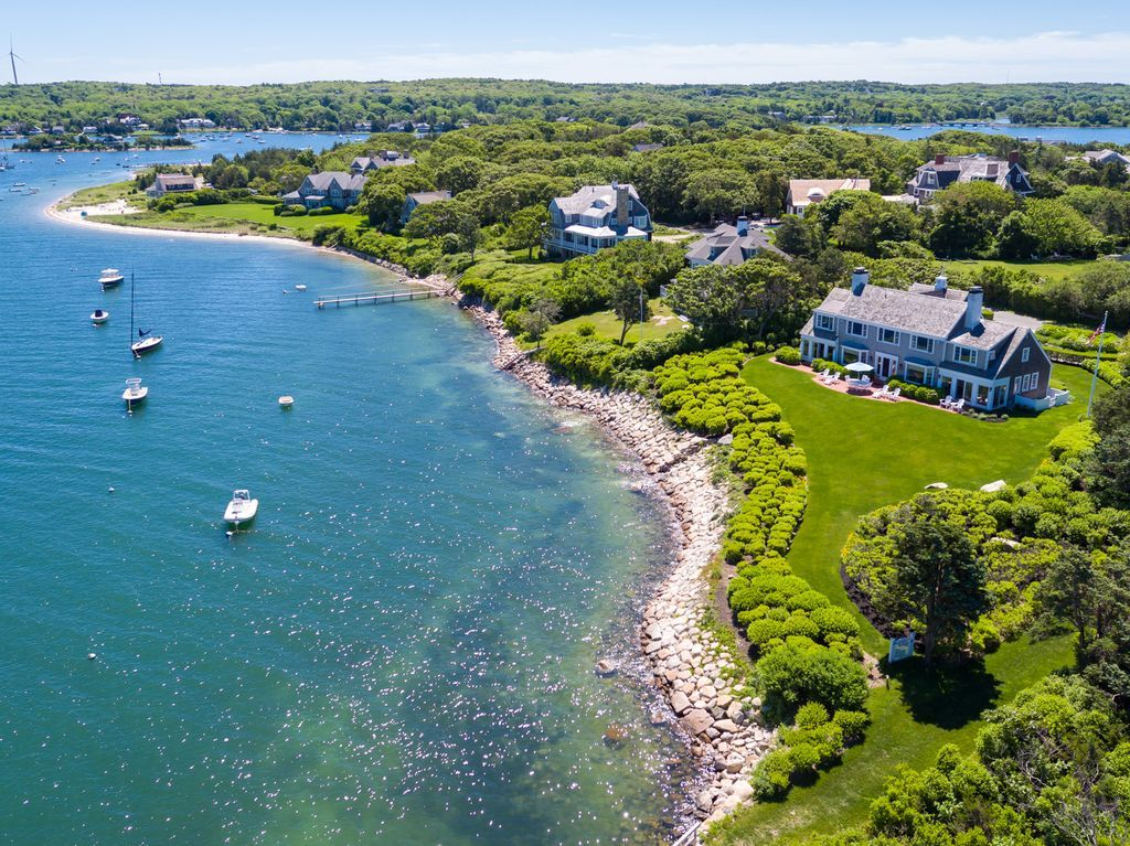 waterfront homes for sale in falmouth maine