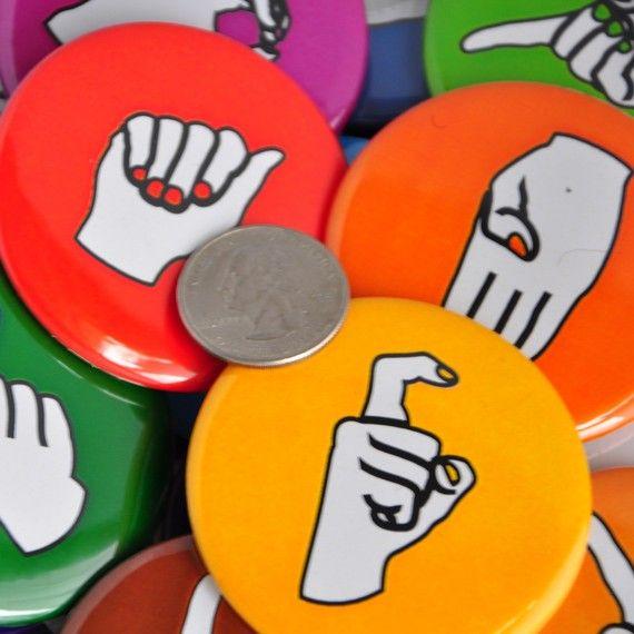 ASL Fingerspelling magnets...I want
