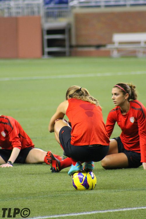 Tobin Heath   Alex Morgan df0e141c0