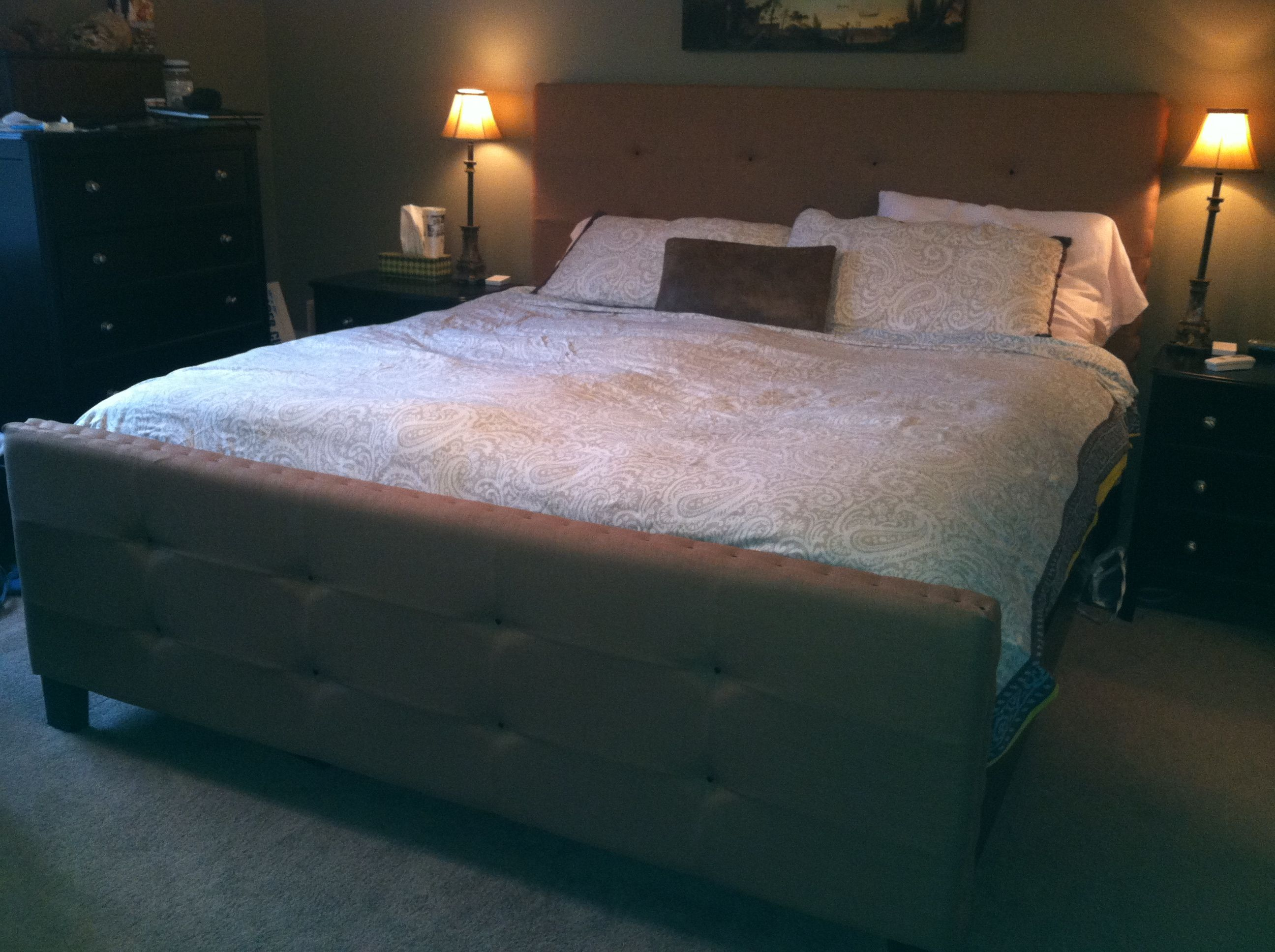 My bed, redone;)
