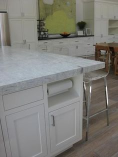 Quot Viscount White Quot Granite White Cabinets This Is The