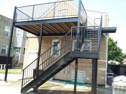 Metal Works Balcony Support Bk Reno Ideas In 2019