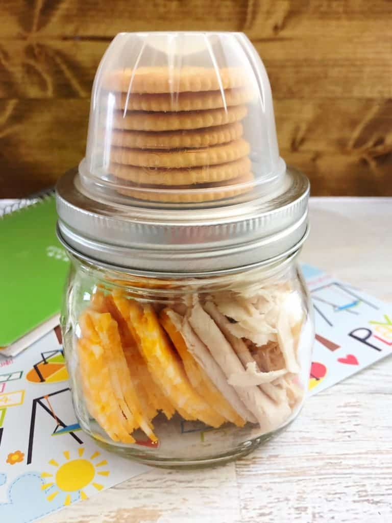 DIY Lunchables - Make Ahead in Mason Jar