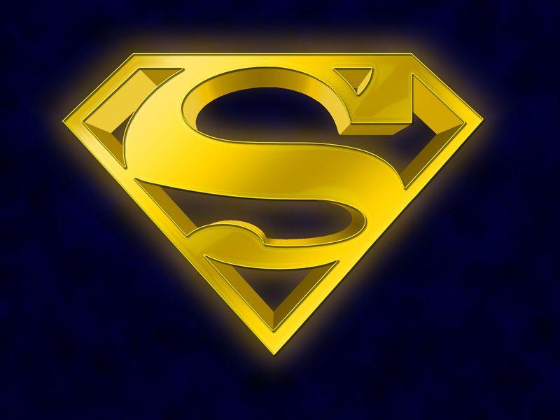superman man of steel emblems   Yellow Superman   Super ...