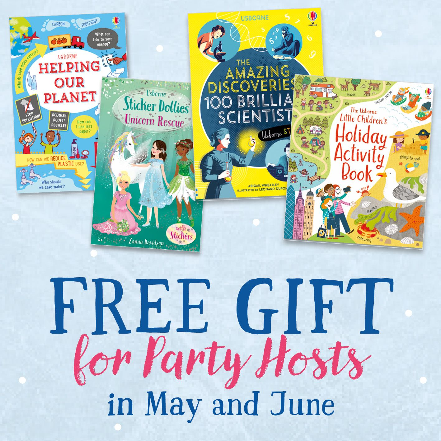 Free books in 2020 usborne books party book party