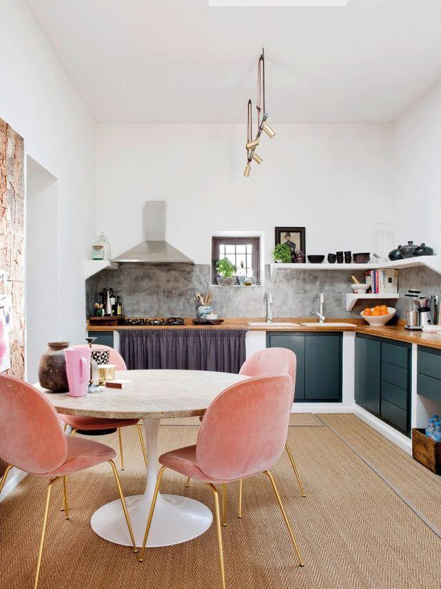 Une maison de campagne au glamour urbain (PLANETE DECO a homes world