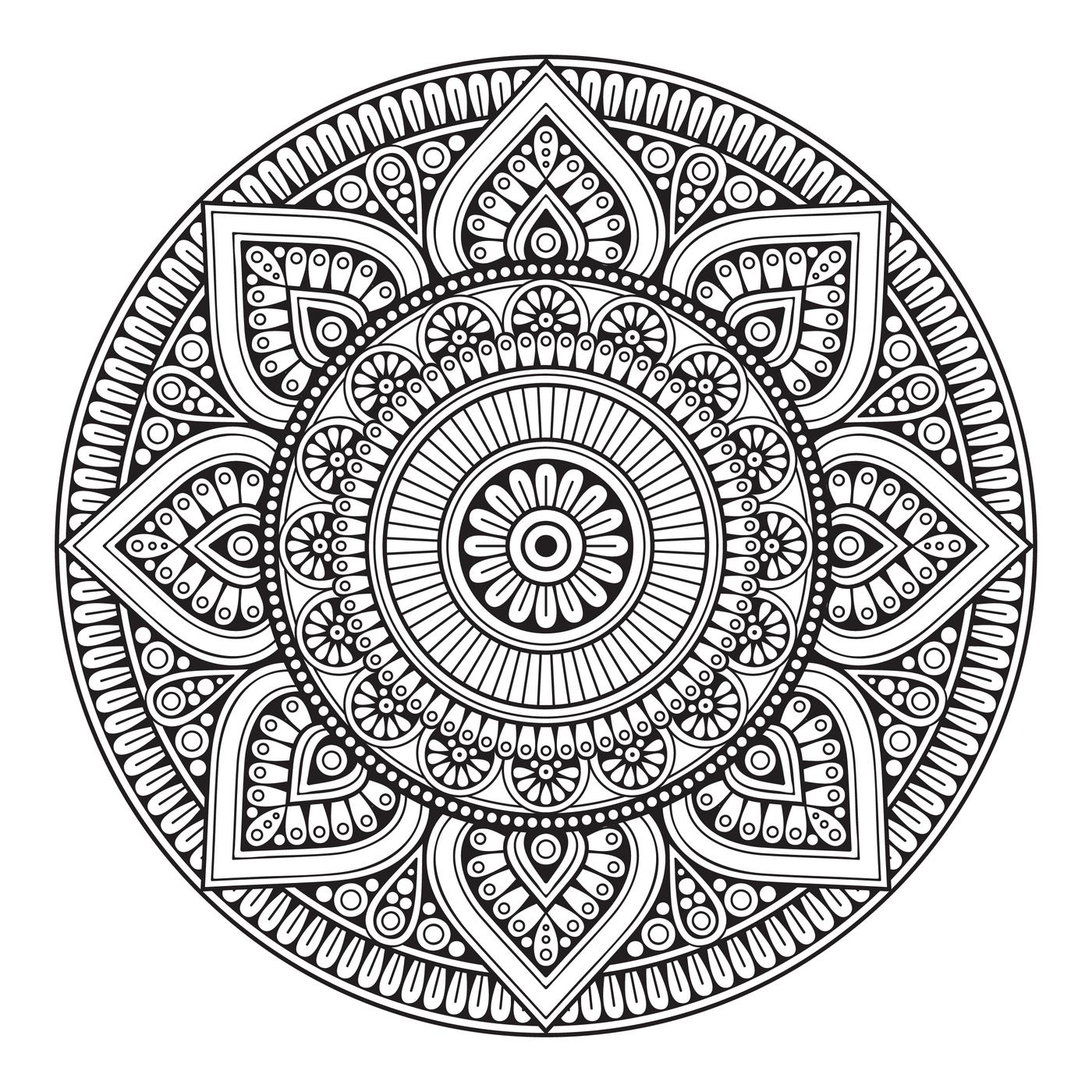 Einzigartig Mamdala Farbung Malvorlagen Malvorlagenfurkinder Mandala Ausmalen Mehndi Muster Mandala Muster