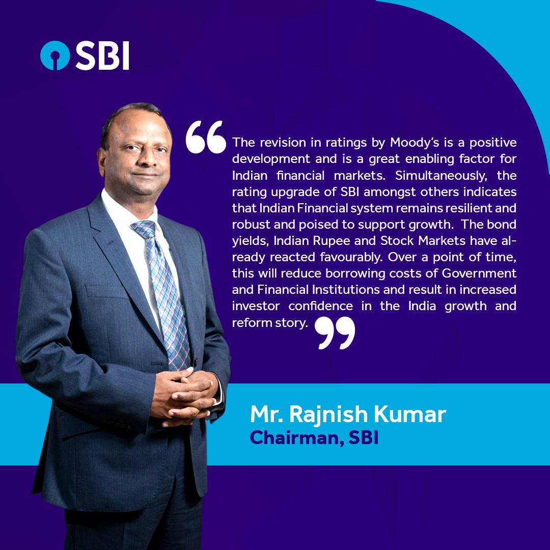 SBI Chairman, Shri. Rajnish Kumar, speaks on upgrade of