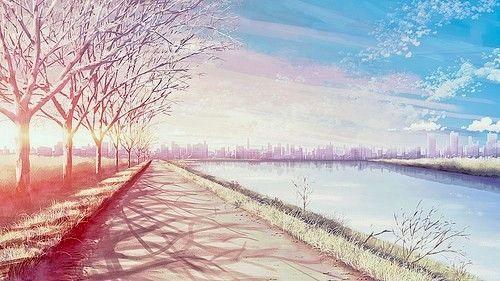 Nice Sunset Anime Background Anime Scenery Anime Scenery