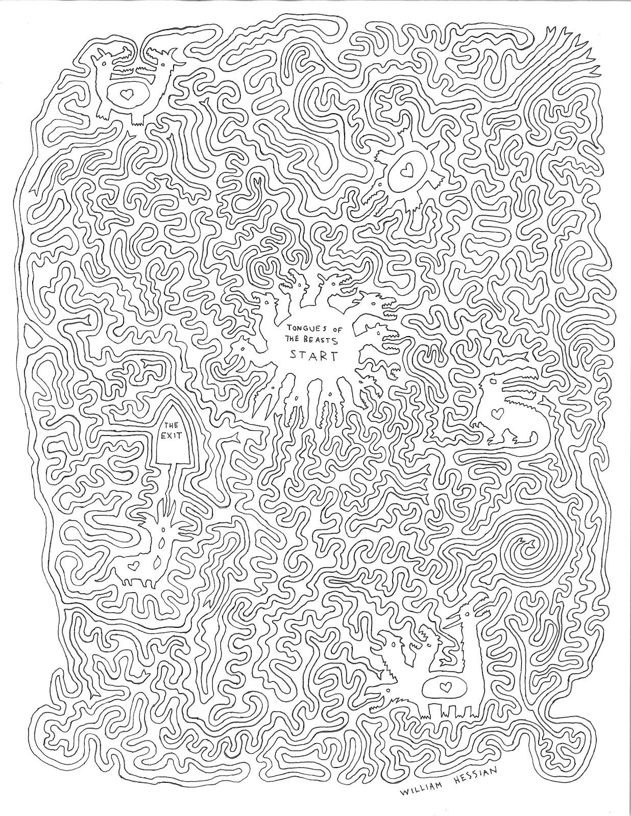 Dragon Maze Fun For All Ages Mazes For Kids And Adults