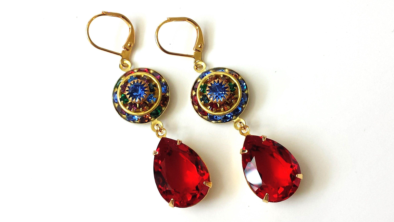 Drop  earringS   by KARRI BLUE