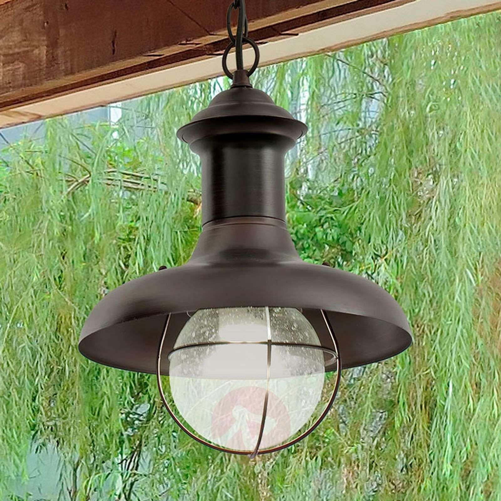 Lampa Wisząca Zewnętrzna Estoril P Hanging Lights Light Pendant Light