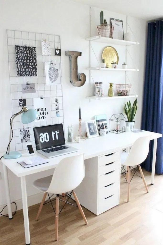 83 Most Beautiful Home Office Design Ideas Black Living Room Black Furniture Living Room Mid Century Living Room