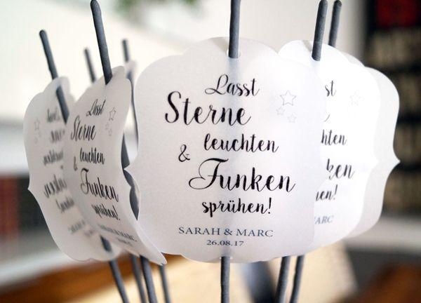 Wunderkerzen Hochzeit  Hochzeit  Wunderkerzen hochzeit
