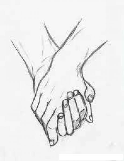 Resultado de imagen para manos entrelazadas en caricatura  Amor