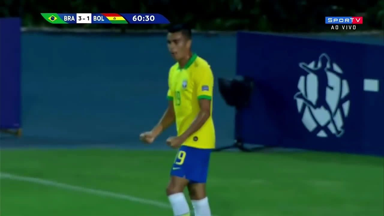 Brazil 4 1 Bolivia Reinier Olympic Qualifiers Celta De